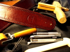 Some Tools used to craft the Artisan Strap