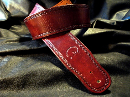Presenting the Standard Handcrafted CT Artisan Guitar Strap