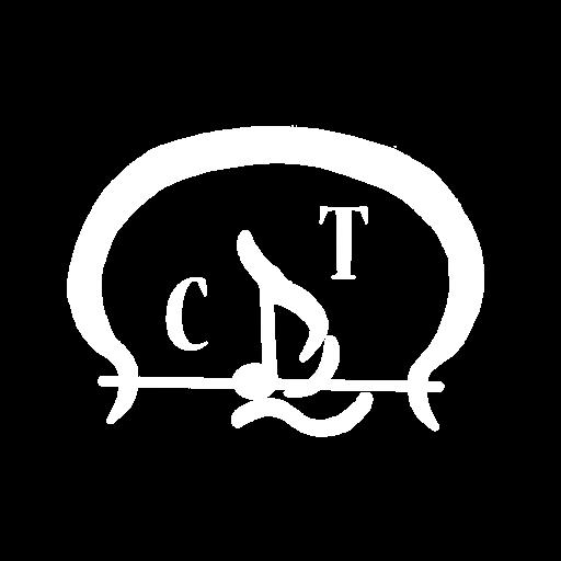 CT Music Straps Inc. / Designer Leatherworks Division White Logo