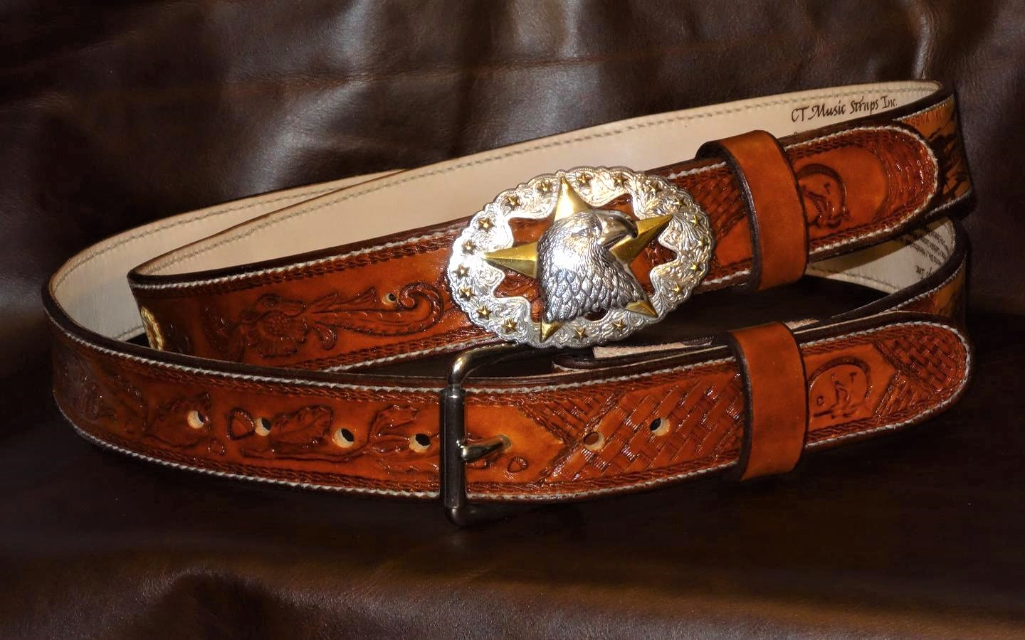 His and Hers Hand Crafted Western and Traditional Belts.