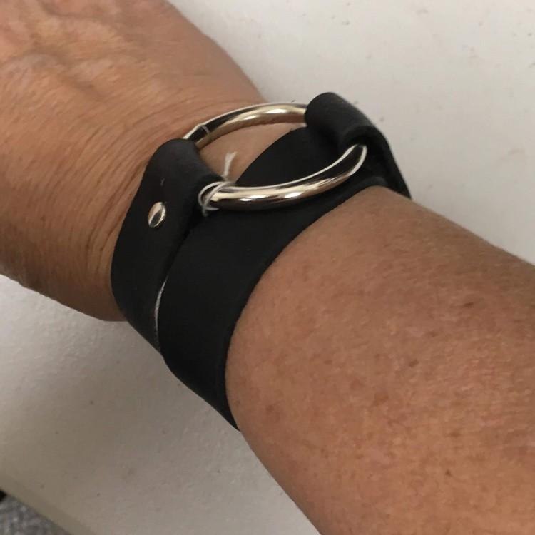 Wrap Around Heavy Duty Leather Bracelet